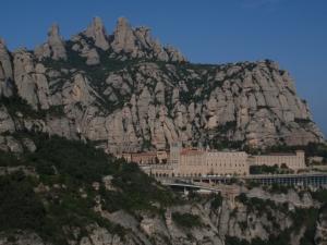 Vivències personals de la I caminada Sants- Montserrat i Almeda-Montserrat