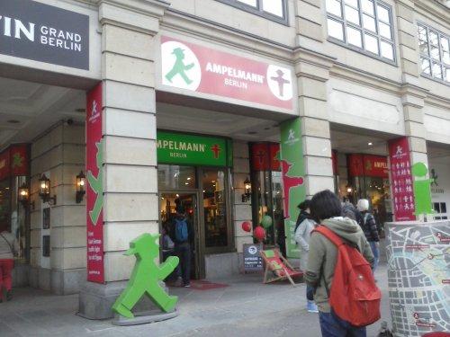 Botiga Ampelmann (souvenirs a Berlín)